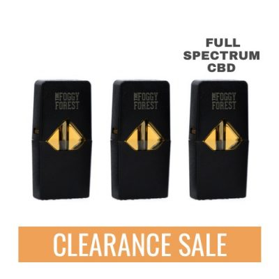 Full Spectrum CBD Fog Pods compatible with J Devices