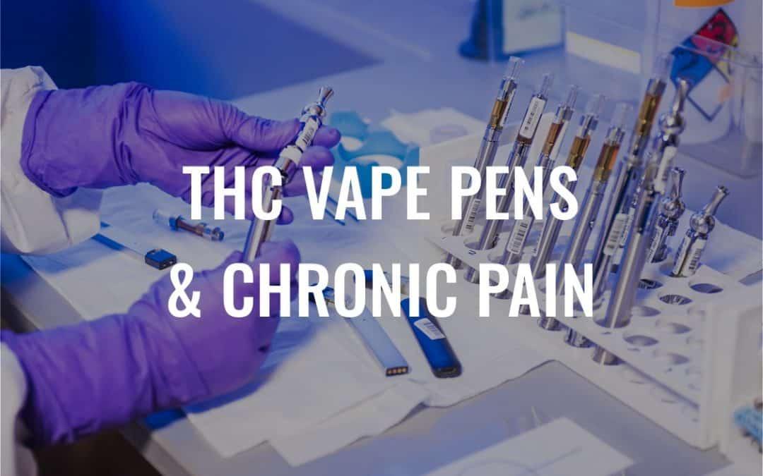 Chronic Pain? How a THC Vape Pen Could Help