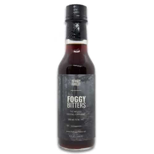 Foggy Bitters - Buy THC Infused Cannabis Cocktail Flavouring - The Foggy Forest