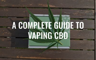 A Complete Guide to Vaping CBD (Beginners Start Here)