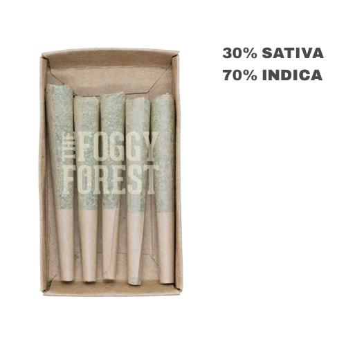 Death Bubba AAA+ | Fog Cones Preroll 5 pack x 0.6g