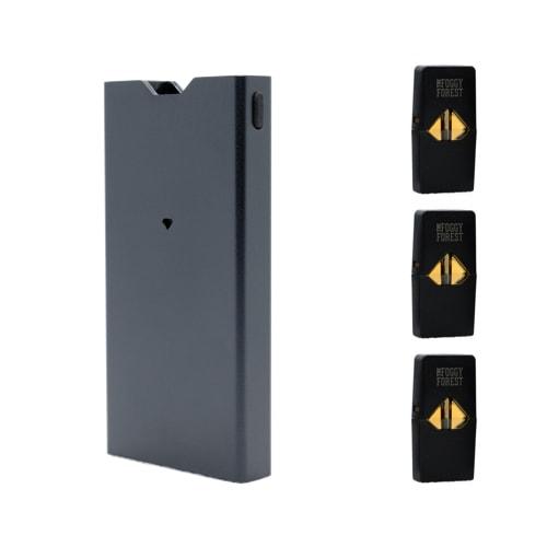 Buy THC Fog Pods Starter Kit (2021 Special Offers) - JEWEL Pod Battery